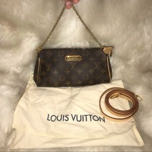 Louis Vuitton Eva crossbody clutch